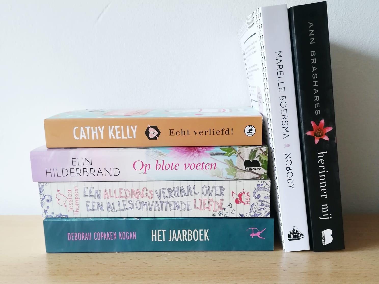 Boekenhaul september 2018 | Marieke's Books