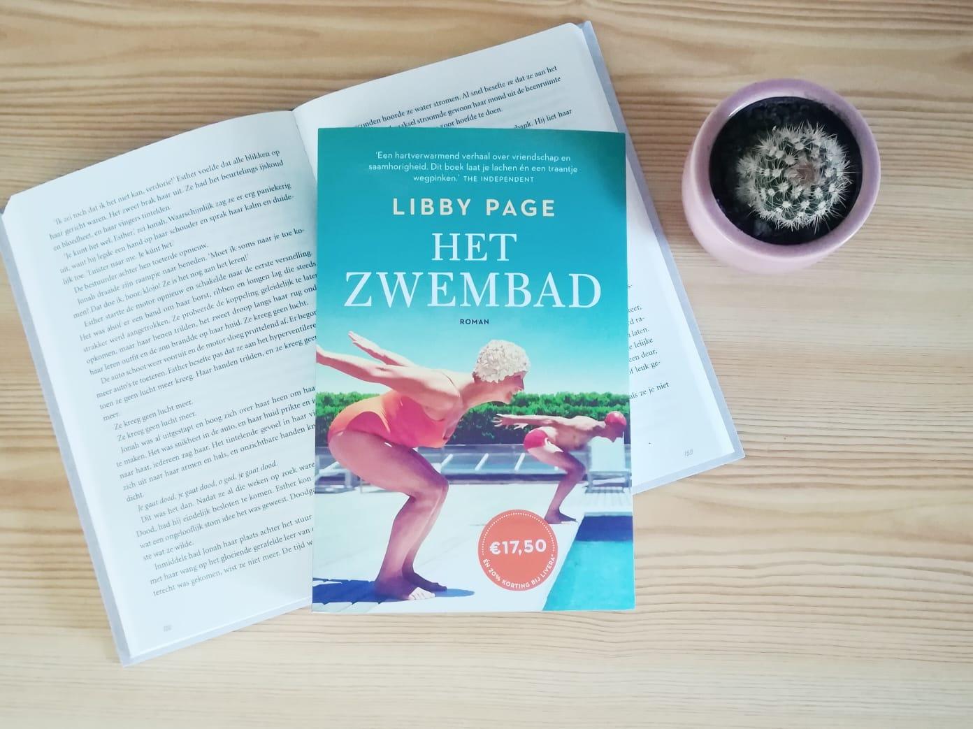 Recensie het zwembad - Libby Page | Marieke's Books