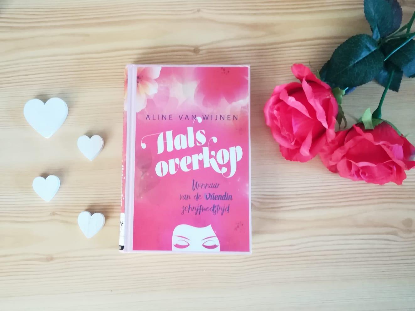 Halsoverkop - Aline van Wijnen   Marieke's Books