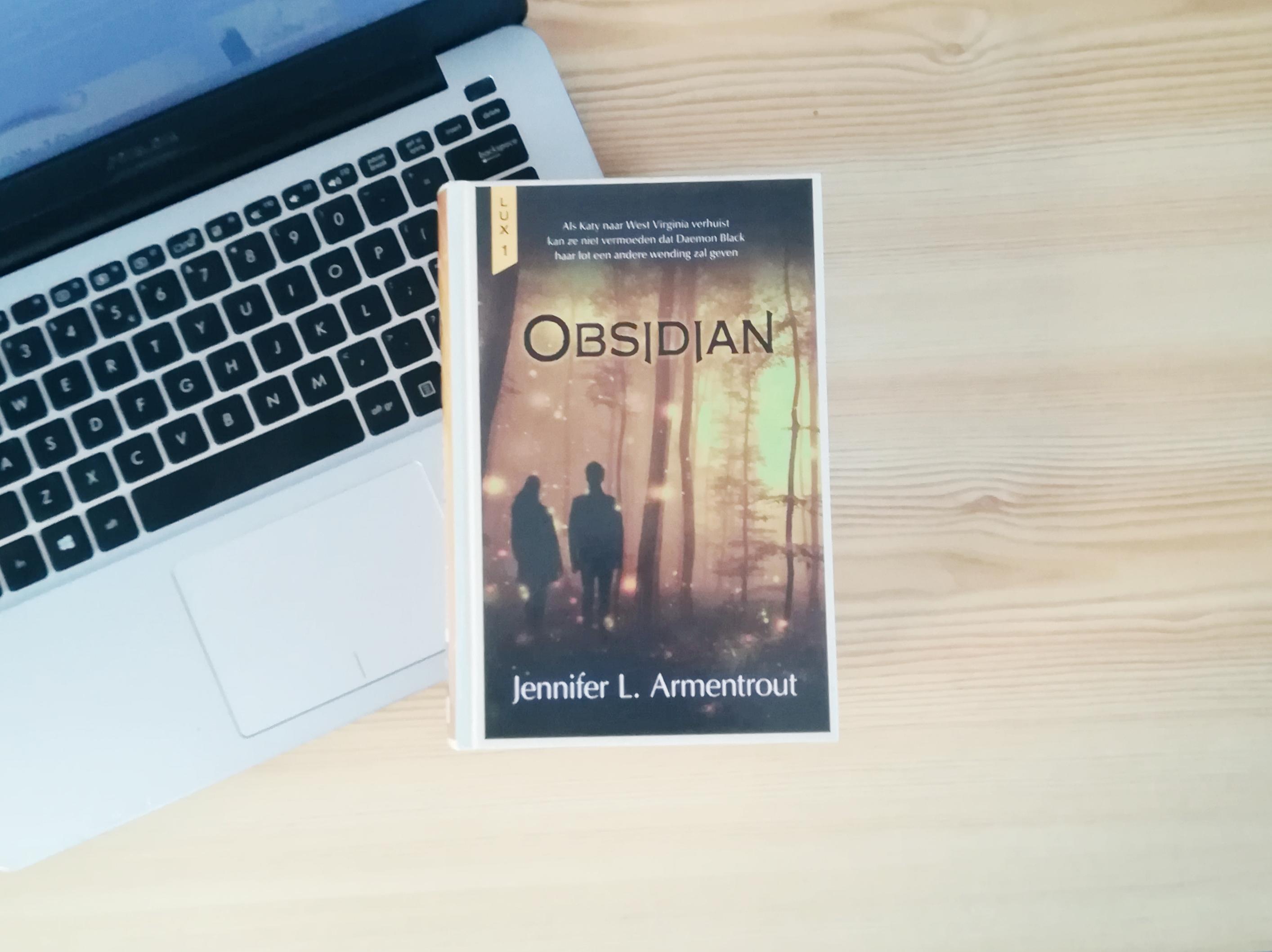 Obsidian - Jennifer L. Armentrout   Marieke's Books