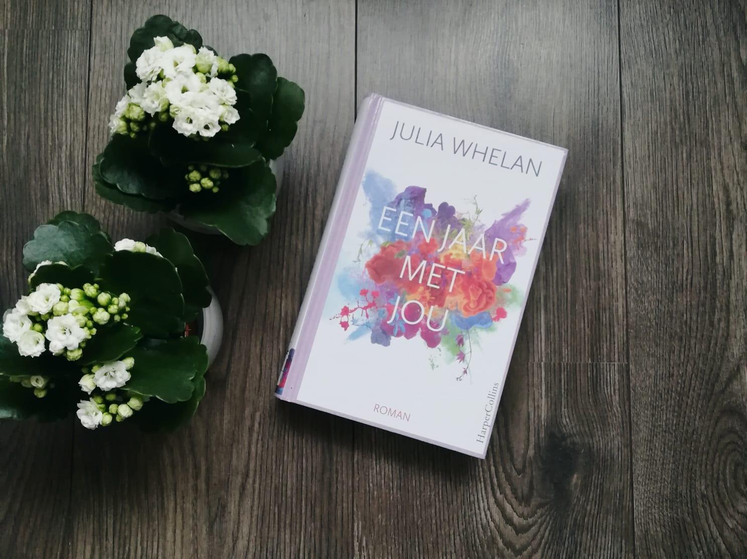 Een jaar met jou - Julia Whelan | Marieke's Books