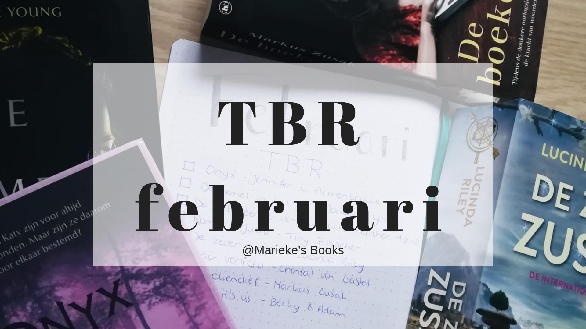 TBR februari 2019 | Marieke's Books