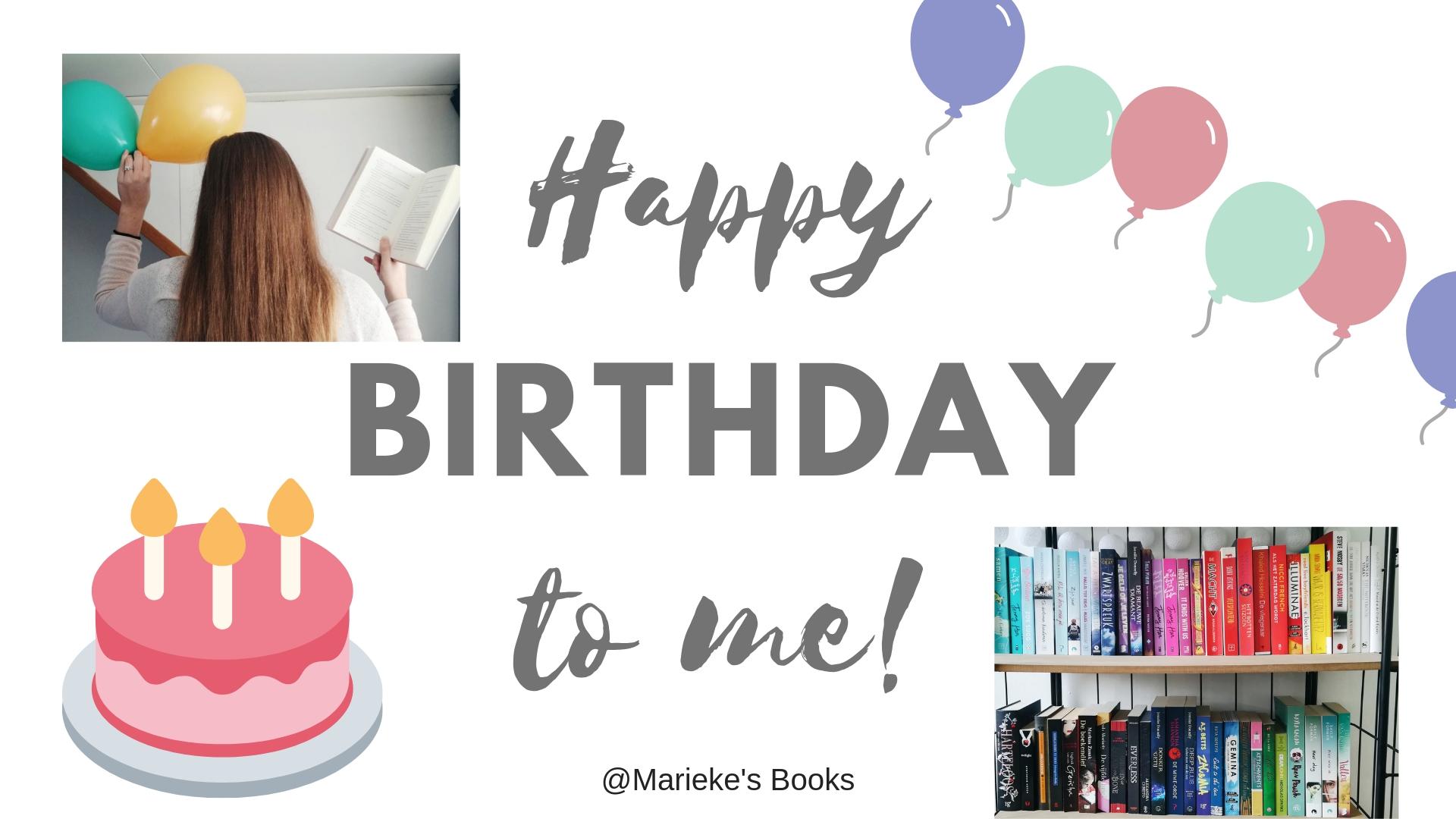 Verjaardag 21 2019 | Marieke's Books
