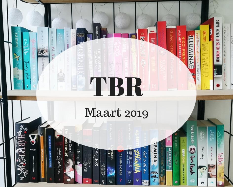 TBR maart 2019 | Marieke's Books