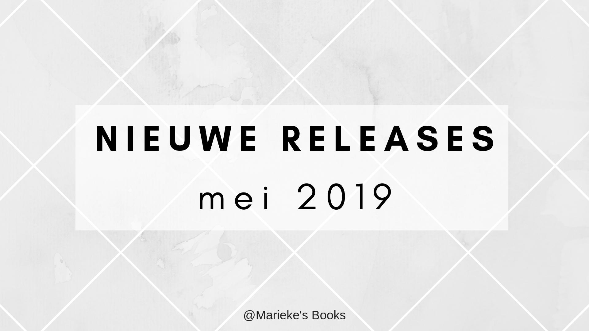 Nieuwe releases mei 2019 | Marieke's Books