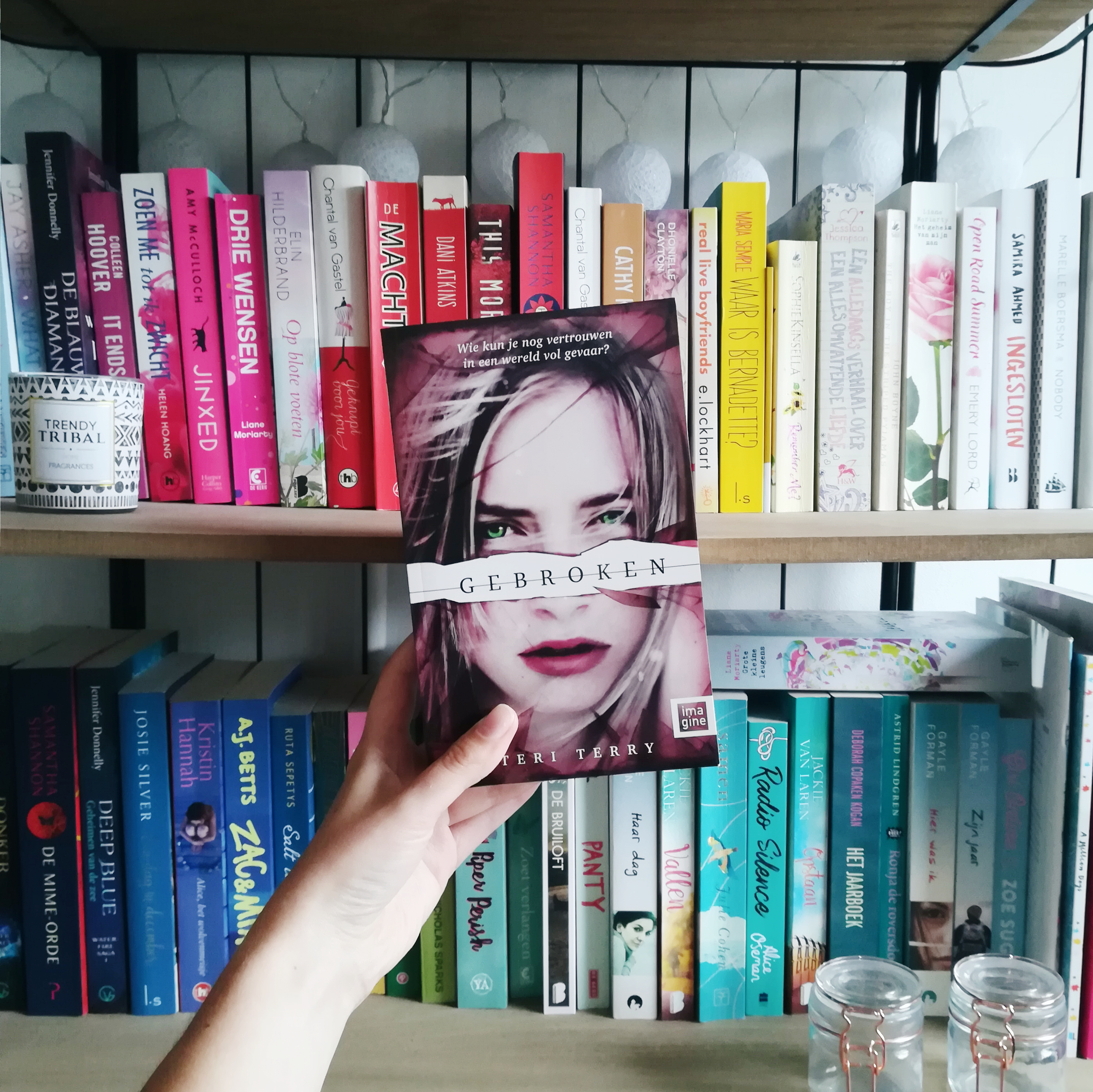 Gebroken - Teri Terry | Marieke's Books