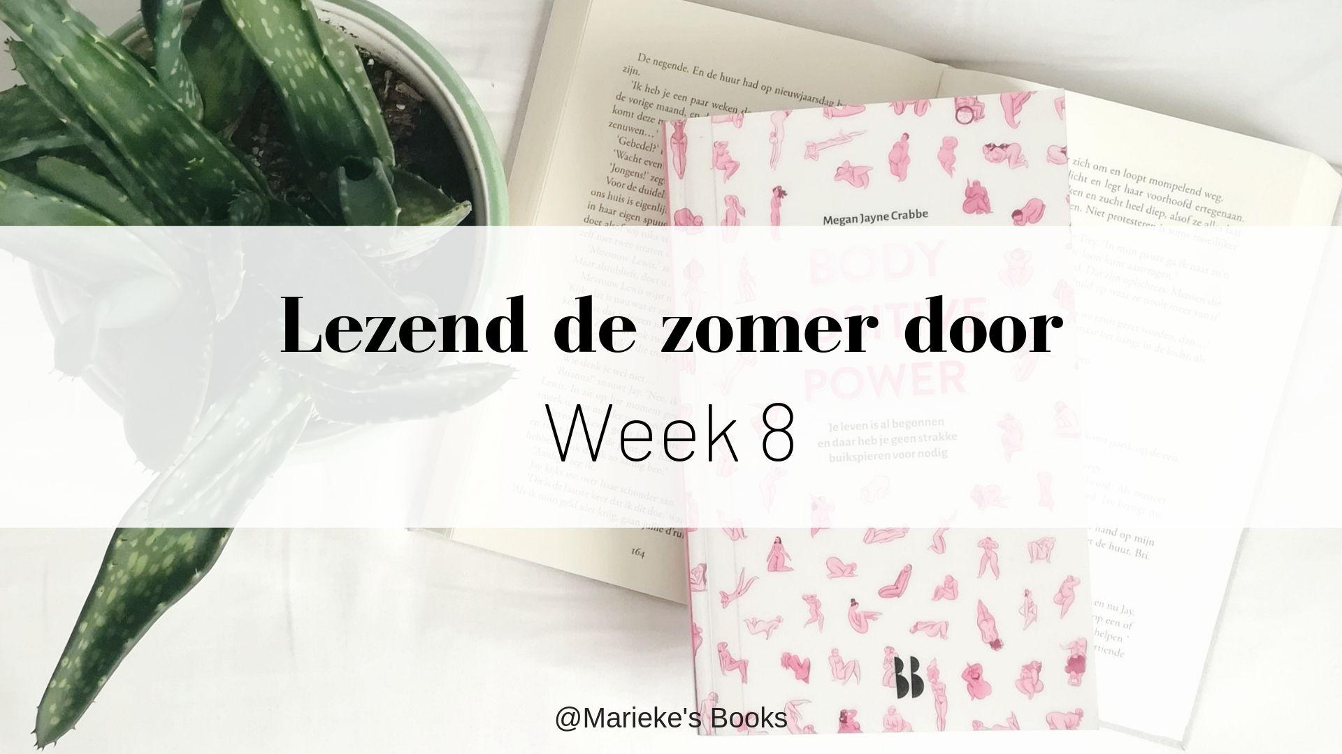 Lezend de zomer door - week 8 | Marieke's Books