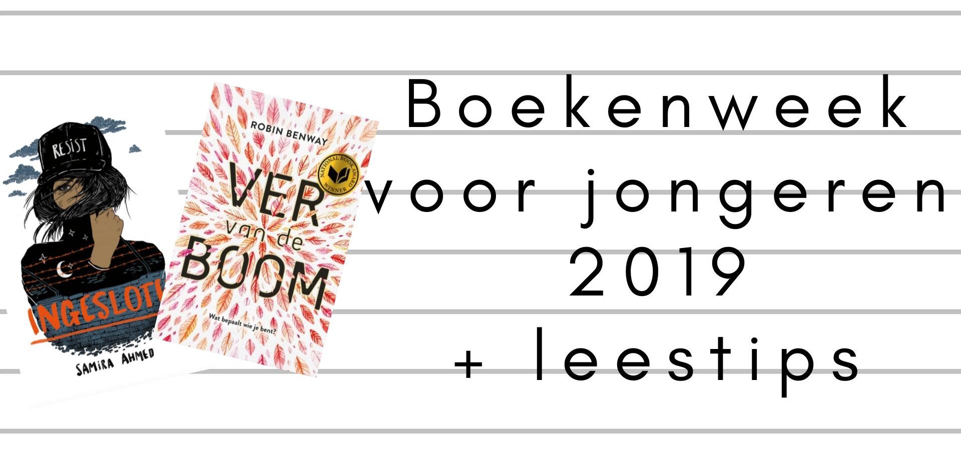 Boekenweek voor jongeren 2019 + leestips | Marieke's Books