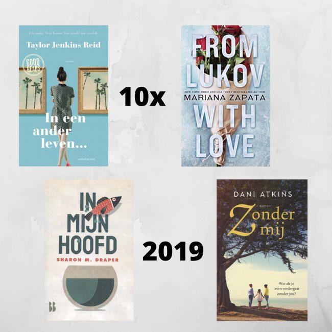 10x favoriete boeken 2019